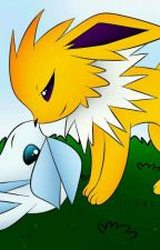 Thunder and Ice (Jolteon x Glaceon) by GalladeMaster_68