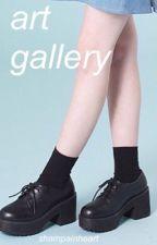 art gallery • l.h. by shampainheart