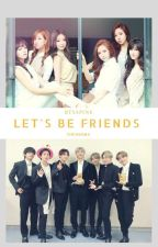 [C]Let's be Friends [Bts Apink]  by azraasyura