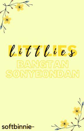 littlies 》bangtan sonyeondan by softbinnie-