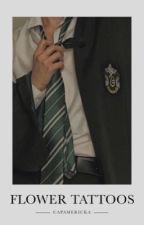 Flower Tattoos ➙ Drarry by capamericka