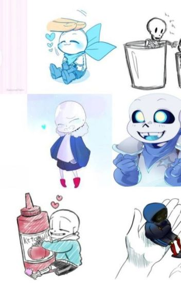 Pocket / Smol Sans X Reader {One Shots} - Oh hello there