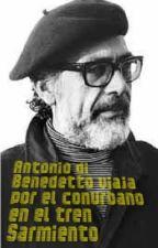 Antonio Di Benedetto viaja por el conurbano en el tren Sarmiento by Isidro_Parodi