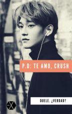 POSDATA: TE AMO, CRUSH. <Chen>.첸 by oxe_lisbeth