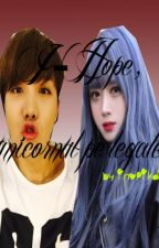 J-Hope, unicornul pe legale [WhatsApp Messenger] by InoPikachu