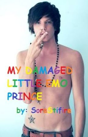 My damaged little emo prince (boyxboy) by SoraStrifire