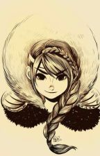 Чёрнокрылая девушка [Как приручить дракона] by ad_dd_5