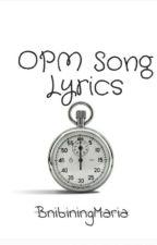 OPM Song Lyrics by BnibiningMaria