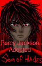 Percy Jackson son of Hades by redgrowle