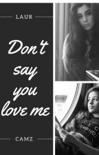 Don't say you love me (Camren) by FeelsCamrenxWarmi