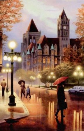 94 Gambar Kartun Romantis Waktu Hujan HD