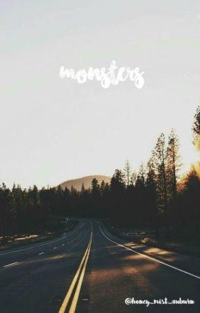 monsters → s. harrington by honey_mist_auburn