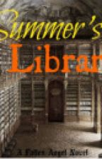 Summer's Library by CeciditAngelus
