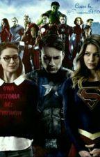 supergirl y los vengadores by yiyinow