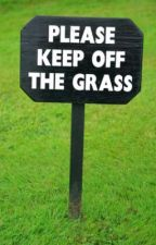 Please keep off the grass. by justanotherlonelyguy