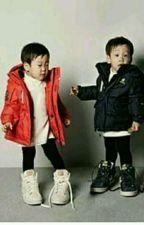 Baby Twins by AquaBillc