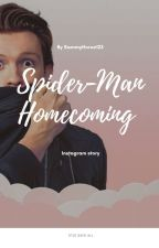Spiderman-homecoming (Michelle Jones And Peter Parker) Instagram Fanfic by SammyHoran123