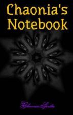 Chaonia's Notebook by ChaoniaSprites