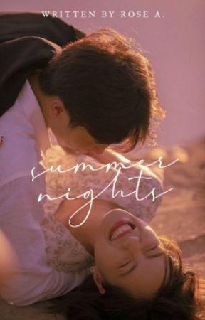 Summer Nights | Taehyung by azurenights