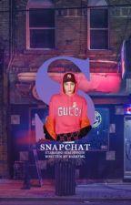 snapchat ; 김종인  by baekfml
