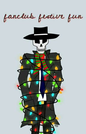 Fanclub's Festive Fun - Skulduggery Pleasant by SP_Fanclub