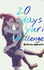 20 days yuri Challenge by Panna_elegancka
