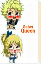 Saber Queen ( Sting X Lucy ) by appine
