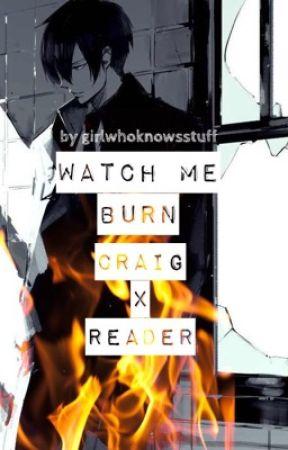 Watch me burn - Craig x Reader (South Park FanFiction) by girlwhoknowsstuff