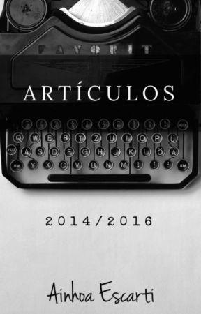 Artículos 2014/2016 by AinhoaEscarti
