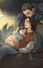daddy Steve & papa Bucky  by patrycjastark