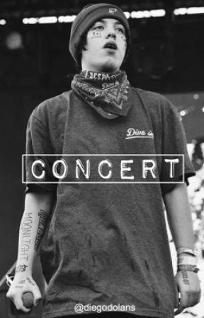 Lil Xan ; concert by xoxanarchyxox
