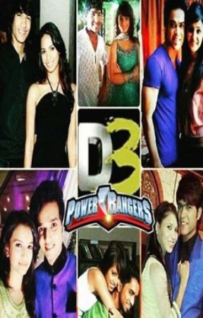 Power Rangers - D3 Style by PrishitaMehta