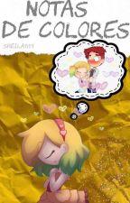 ;;Notas de colores;; FNAFHS - FOXICA by Sheila9159