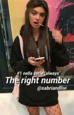The right number [Always series ,, book #1] by sabriandlivi