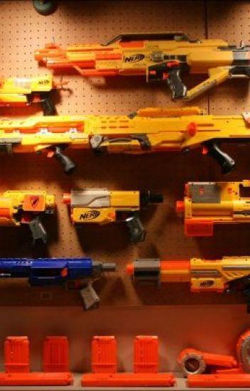 My nerf gun wish list