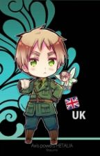 England x Neko! Reader by daphnelaughter
