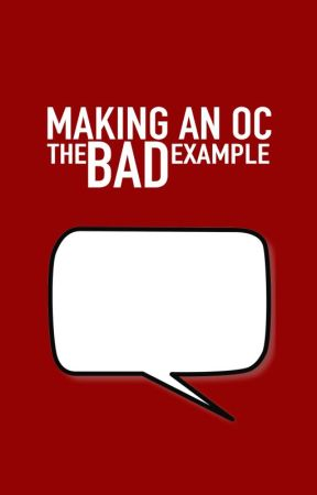 |MAKING AN OC, the BAD example| by NnoShitSherlock
