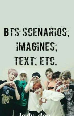 BTS Scenarios, Imagines, Texts Etc - BTS When They Saw You Crying