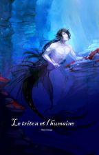 Le triton et l'humaine by Flocondefeu