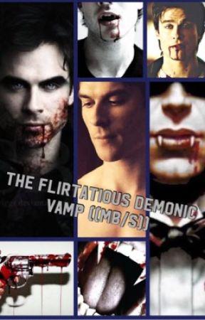 Flirtatious demonic vamp ((MB/s)) by 1800CLOWNARCHER
