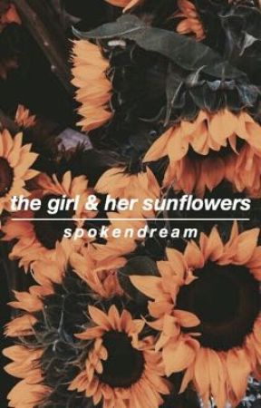 the girl and her sunflowers by SpokenDream