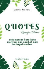 QUOTES by izatulrmdn