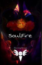 SoulFire  ( sans x frisk AU) by EkoingSkies