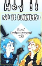 """""""Hey! No te suicides!"""" 《Ciphercest》 by -Soy-Tom-"""