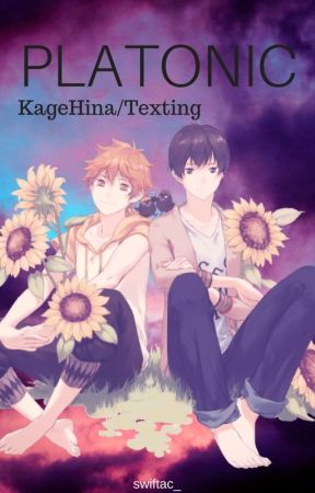Platonic /KageHina/ -Texting- by swiftac_