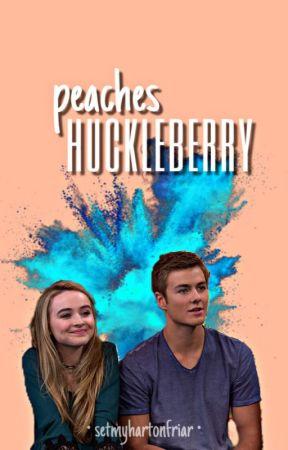 peaches n' huckleberry  by setmyhartonfriar