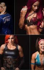 WWE Story: 4 Horsewomen by wwestories314