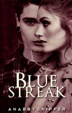 Blue Streak by taedimples