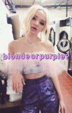 blonde or purple? • zane hijazi by themagickingdom