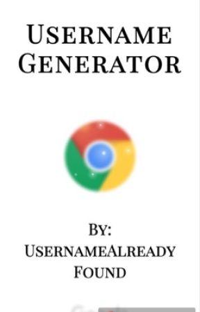 Username generator by UsernameAlreadyFound